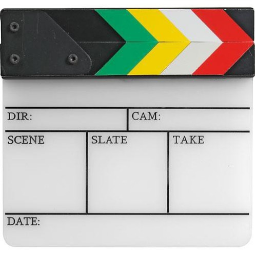 Pearstone Video Clapboard